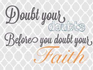 doubt doubts