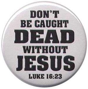 dead without Jesus