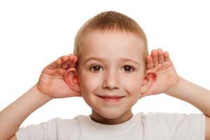 Child listening