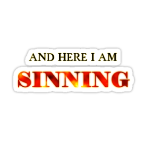 sinning